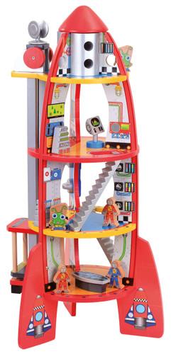 Bubbadoo Wooden Rocket Ship Australian Toy Distributors