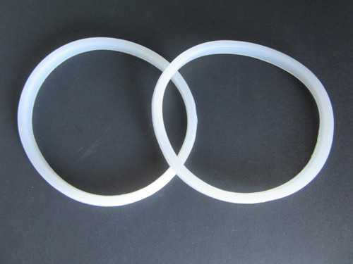 kitchen aide mixer attachments used commercial equipment two rubber gasket seal for manual sausage stuffer 3 5 7 10 ...