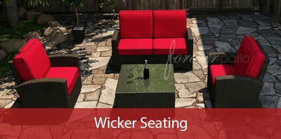 modern wicker furniture
