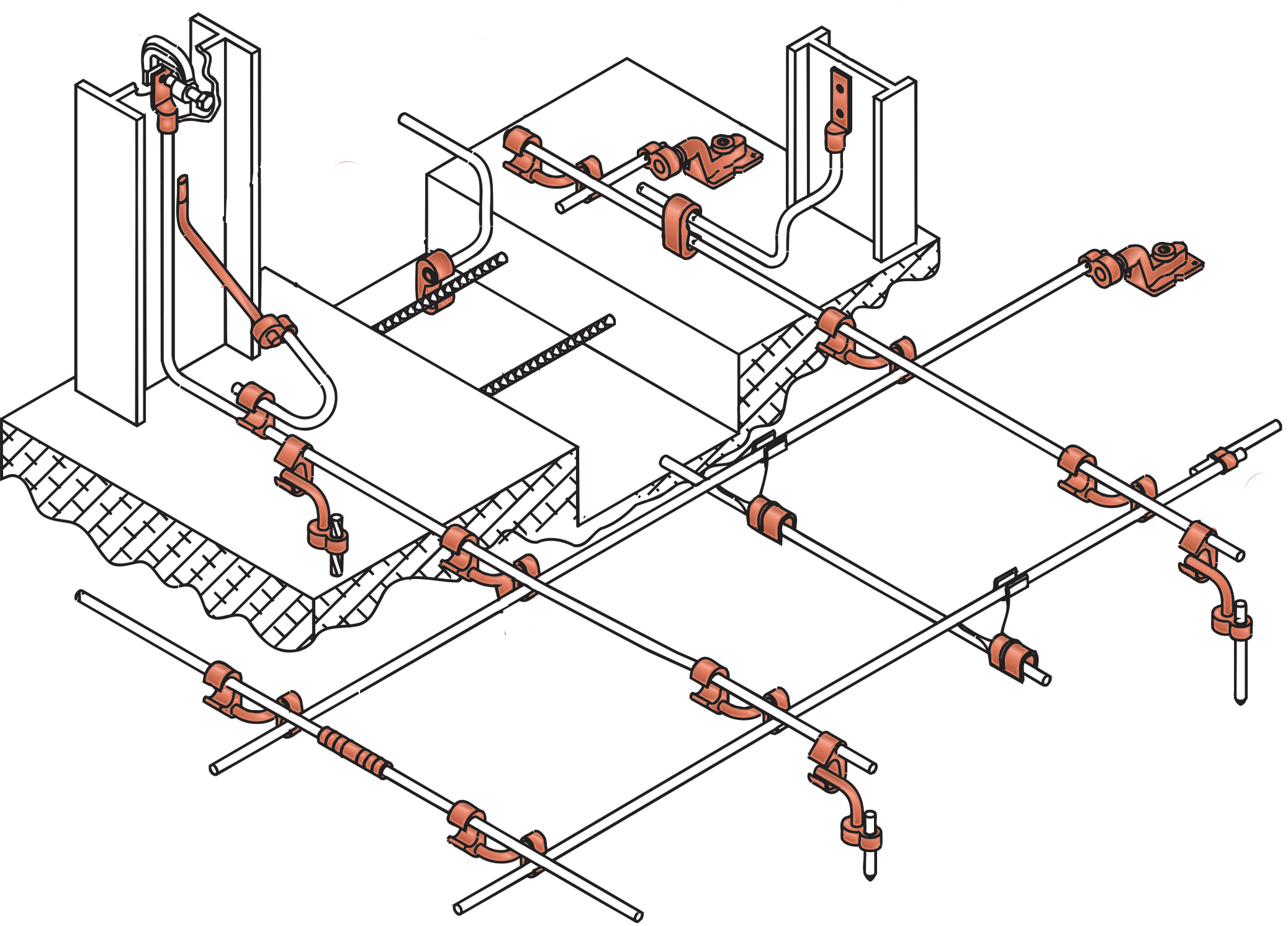 but the above diagram is relatively uncommon the building code in the us currently states that you need to have two six foot copper grounding rods six foot  [ 2075 x 1492 Pixel ]