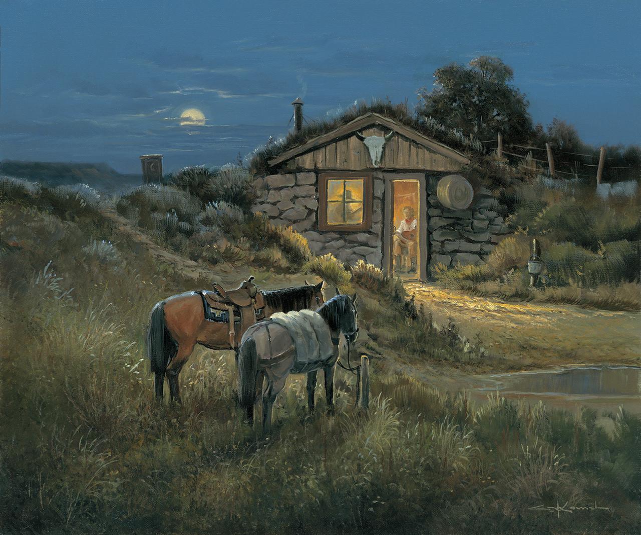 Texas Western Fine Art Prints George Kovach