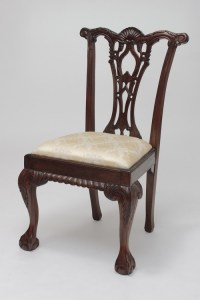 Antique Chippendale Chair | Laurel Crown