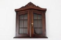 Antique Wall Cabinet | Laurel Crown