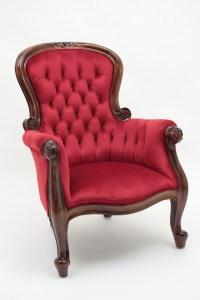 Victorian Armchair   Laurel Crown