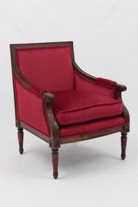Louis XVI Bergere Armchair - Antique Reproduction ...