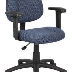 Posture Deluxe Chair Outdoor Covers Big W Boss Adjustable Arms Everything For Offices Blue B316