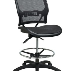 Drafting Office Chair Antique Rocking Chairs Without Arms Star Deluxe Ergonomic Airgrid Seat And Back 13 77n30d