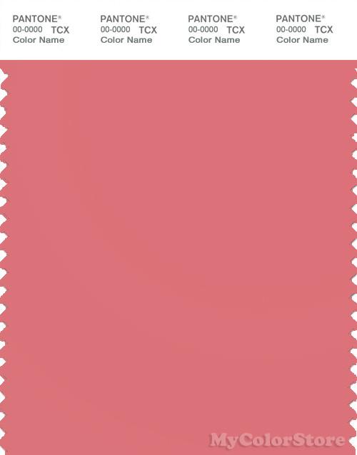 PANTONE SMART 161620 TCX Color Swatch Card  Pantone Tea Rose