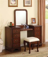 Ali Cherry Makeup Dressing Table Set | Dressing Table Sets