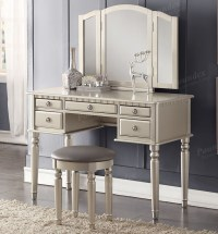 Christine Makeup Dressing Table Set | Vanity Table Sets