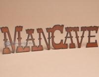 Rustic Metal Art Wall Plaque -Man Cave (p102) - Mission ...