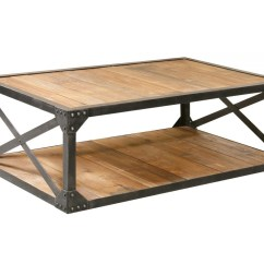 Metal And Wood Chairs Roman Chair Back Extension Alternative Industrial Coffee 51 Quot Table Rectangular