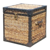 "Seagrass Woven Trunk Side Table | Lanai 20"" Trunk Side ..."