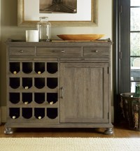 French Oak Small Wine Buffet Cabinet | Zin Home