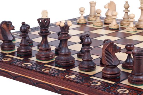 Unique Wood Chess Set, Pieces