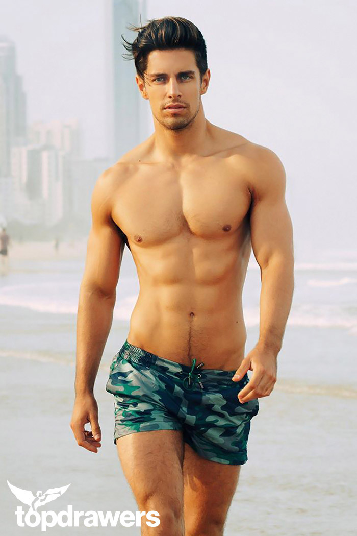 2EROS Print Swim Short ($85)