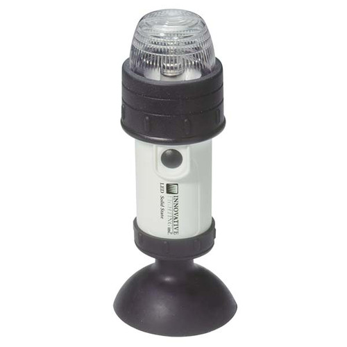 Portable LED Stern Navigation Light  Suction Cup Mount