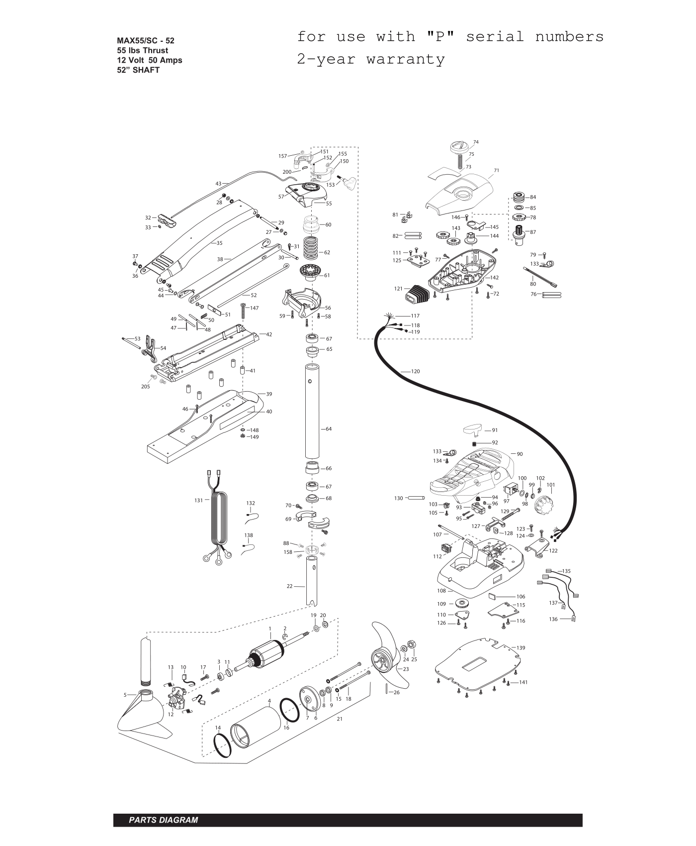 minn kota riptide 55 wiring diagram autometer temperature gauge sc motor great installation of max 52 inch parts 2015 from fish307 com rh 24 volt controller