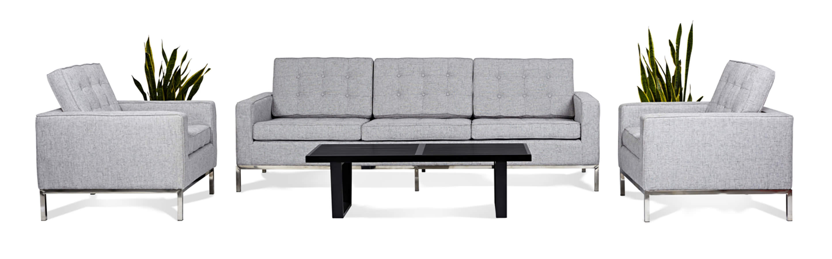 florence knoll sofa review single bed chair leather style living room sets