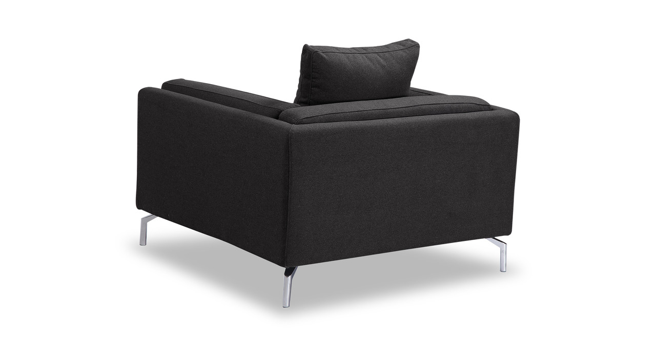 loft charcoal sofa bed french country table basil arm chair kardiel png