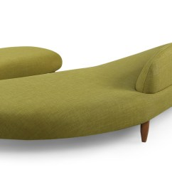 Noguchi Sofa Reproduction 3 Seater Covers Malaysia Kidney Bean Ottoman Atomic Moss Kardiel The Design Is A Functional Open End Chaise And Included In This Matching That Fits As Set
