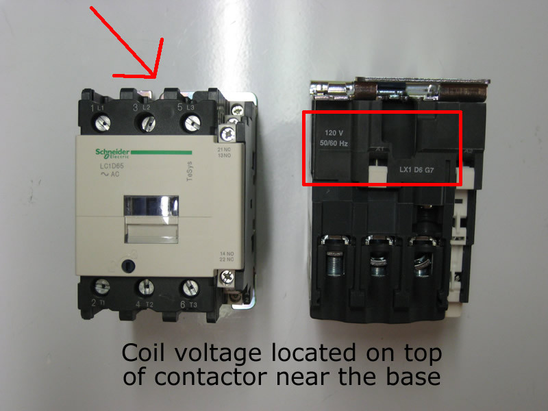 110 volt wiring diagram sense of touch telemecanique / square d lc1d40f7 40 amp contactor with a 110vac coil
