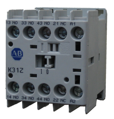 Allen Bradley 700K31ZD 4 pole miniature control relay with 3 NO and 1 NC contacts and a