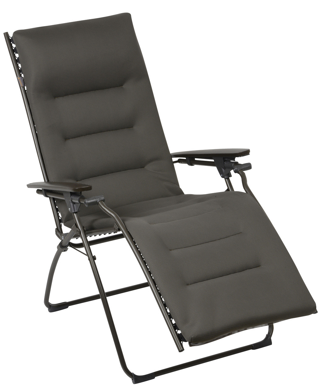 Padded Zero Gravity Chair Lafuma Evolution Recliner Acier With Padded Air Comfort