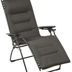 Ez Posture Chair Covers Erie Pa Lafuma Evolution Recliner Acier With Padded Air Comfort