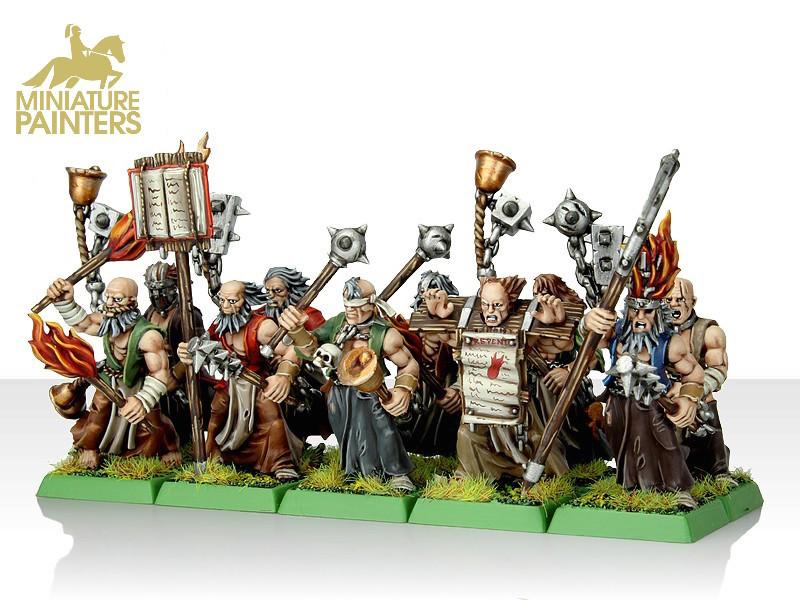 Devoted Of Sigmar Flagellants Miniature Painters