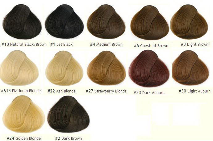 also color chart rh remeehair