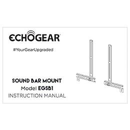 Universal Sound Bar Mount With Height Adjustable Design
