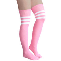 Baby Pink Over-the-Knee Socks