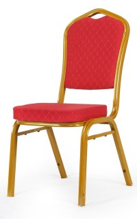 Banquet Chair in Red D055P - Odds & Ends Kenya