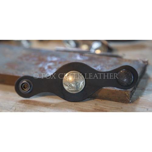 Leather vest extender fox creek leather