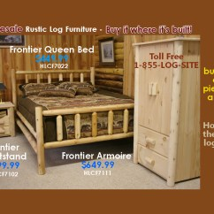 Hickory Chair Accessories Bedroom Chairs For Sale Log Furniture-rustic Beds-nationwide Wholesale-cabin & Commercial
