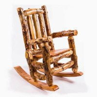 Rustic Furniture Outdoor Rocking Chair
