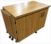 Sylvia 2400Q Super Large Opening Cabinet With Quilt Leaf ...