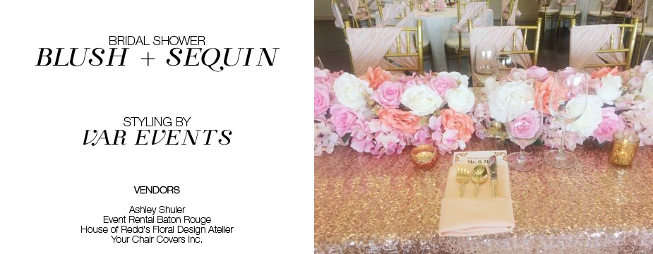 polyester chair sashes wholesale swing homestore photos - beautiful blush and sequin bridal shower by var events your covers inc.