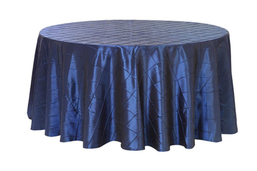 burlap chair covers for sale chairs sleeping navy blue pintuck tablecloths, 132 inch round table linens weddings
