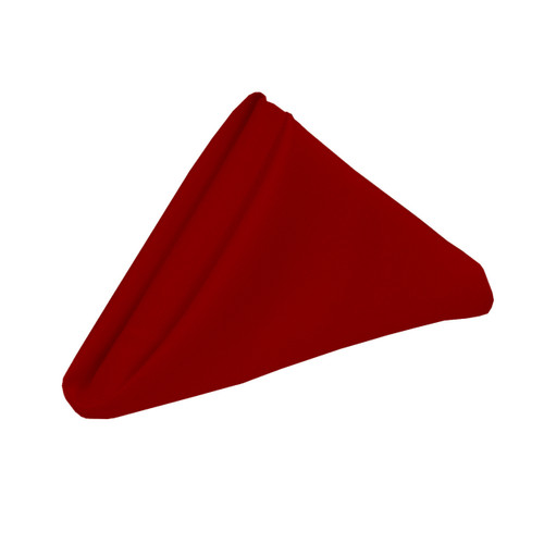 red chair covers for cheap double bass 20 inch polyester cloth napkins dark (pack of 10) - your inc.