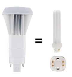led replacements for cfl plug in bulbs [ 900 x 900 Pixel ]