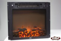 "18"" Electric Fireplace - Flat Glass - RV Parts Nation"
