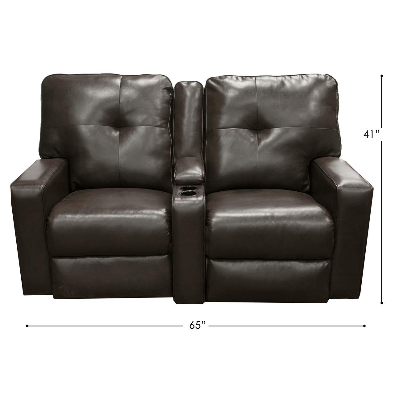 recliner sofa for rv small room bed chocolate reclining couch parts nation