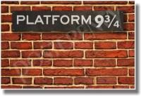 PosterEnvy - Hogwarts Express Platform 9-3/4 - NEW Harry ...