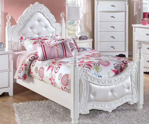 Ashley Furniture Exquisite Twin Size Poster Bed B188 71