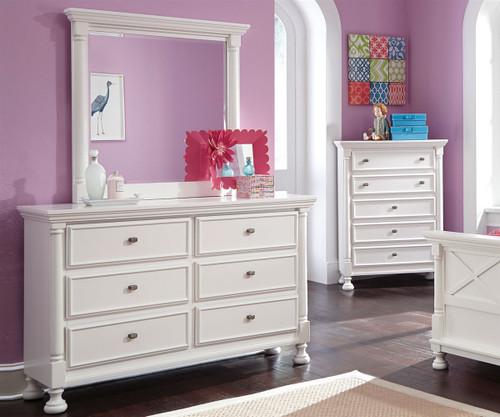 Kaslyn Dresser B502 21 Ashley Furniture Girls