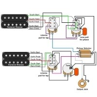 2 humbucker 1 volume tone wiring diagram 2005 subaru outback guitar diagrams | humbucker+1 single coil