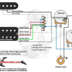 Yamaha Pacifica Wiring Diagram Wire Light Switch 1 Humbucker/1 Single Coil/3-way Lever Switch/1 Volume/1 Tone/02 - Guitarelectronics.com