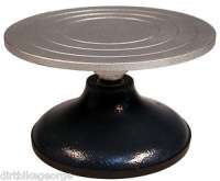 """Sculpting Wheel Turntable - 7"""" Dia Sturdy Metal Top for ..."""